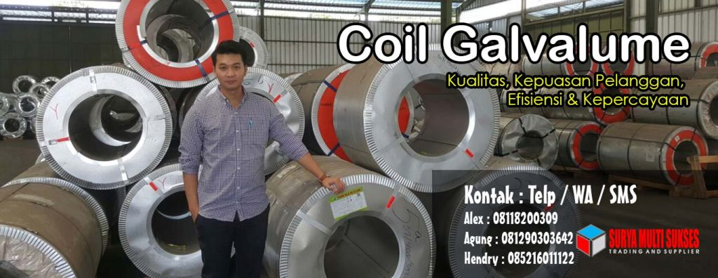 Coil Galvalume Sulawesi